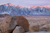 Lone Pine Peak and Mount Whitney, Lone Pine, California, USA Photographic Print by  Jaynes Gallery