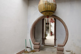 Chinese Doorway with Lantern and Brooms, Hoi An, Da Nang, Vietnam Photographic Print by Cindy Miller Hopkins