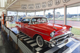 1957 Chevrolet Automobile, Route 66 Museum, Clinton, Oklahoma, USA Photographic Print by Walter Bibikow