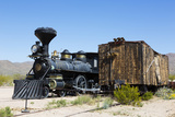 The Reno Locomotive, Old Tucson Studios, Tucson, Arizona, USA Photographic Print by Jamie & Judy Wild