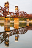 Railroad Bridge across the Atchafalaya River, Melville, Louisiana, USA Photographic Print by Alison Jones