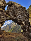 Rock of Ages Arch, Columbia River Gorge, Oregon, USA Photographic Print by  Jaynes Gallery