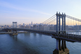 Manhattan Bridge, Manhattan, New York, USA Photographic Print by Peter Bennett