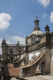 Buttresses of the Metropolitan Cathedral, Zocalo, Mexico City, Mexico Photographic Print by Brent Bergherm
