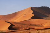 Sand Dunes, Namib-Naukluft National Park, Namibia Photographic Print by David Wall