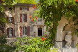 Front Entry to Chateau Roussan Near Saint Remy-De-Provence, France Photographic Print by Brian Jannsen