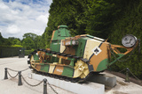 Ft17 Tank, Clairiere Del Armistice, Compiegne, Oise, Picardy, France Photographic Print by Walter Bibikow
