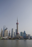 View from the Bund of the Modern Pudong Area, Shanghai, China Photographic Print by Cindy Miller Hopkins
