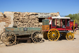 Old Wagons, Old Tucson Studios, Tucson, Arizona, USA Photographic Print by Jamie & Judy Wild