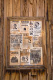 Wanted Posters, Old Tucson Studios, Tucson, Arizona, USA Photographic Print by Jamie & Judy Wild