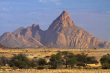 Spitzkoppe (1784 Meters), Namibia Fotografisk tryk af David Wall