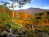 Autumn Landscape of Mount Chocorua, New England, New Hampshire, USA Photographic Print by  Jaynes Gallery