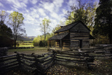 John Oliver Cabin, Great Smoky Mountains NP, Tennessee, USA Photographic Print by Jerry Ginsberg