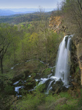 Falling Springs Cascades, Alleghany Co, Virginia, USA Photographic Print by Charles Gurche