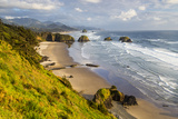 Crescent Beach at Ecola State Park in Cannon Beach, Oregon, USA Photographic Print by Chuck Haney