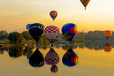 Dawn Light at Prosser Balloon Rally, Prosser, Washington, USA Photographic Print by Richard Duval