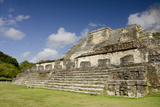 Ruins of Ancient Mayan Ceremonial Site, Altun Ha, Belize Photographic Print by Cindy Miller Hopkins