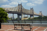 Queensboro Bridge, Sutton Place Park, Manhattan, New York, USA Photographic Print by Peter Bennett