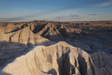 Sunset in Badlands National Park, South Dakota, USA Photographic Print by Walter Bibikow