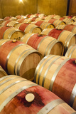 Barrel Room at Walla Walla Winery, Walla Walla, Washington, USA Photographic Print by Richard Duval