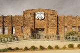 Route 66 Interpretive Center, Chandler, Oklahoma, USA Photographic Print by Walter Bibikow