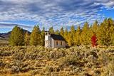 Old Church Along Hwy 395, Honey Lake, California, USA Photographic Print by Joe Restuccia III