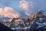 Sunrise Clouds over Mount Gould, Glacier National Park, Montana, USA Photographic Print by Chuck Haney