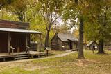 Adams Corner Rural Village, Late 19th Century Buildings, Oklahoma, USA Photographic Print by Walter Bibikow