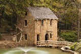 The Old Mill, Gone with the Wind, Little Rock, Arkansas, USA Fotografie-Druck von Walter Bibikow