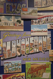 Postcards, Route 66 Museum, Clinton, Oklahoma, USA Photographic Print by Walter Bibikow