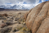 Alabama Hills and the Sierra Mountains, Lone Pine, California, USA Photographic Print by  Jaynes Gallery