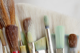 Close-Up of Artist's Brushes, Seabeck, Washington, USA Photographic Print by  Jaynes Gallery