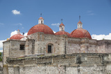 The Domes at the Church of Saint Paul, Mitla, Oaxaca, Mexico Photographic Print by Brent Bergherm
