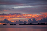 Beautiful Cloud Formations at Sunset in Republic of Palau, Micronesia Photographic Print by Michel Benoy Westmorland