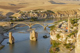 Hasankeyf on Tigris River, Mardin, Turkey Photographic Print by Ali Kabas