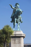 Statue of Napoleon Bonaparte, Cherbourg-Octeville, Normandy, France Photographic Print by Walter Bibikow