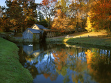 Mabry Mill, Blue Ridge Parkway, Virginia, USA Photographic Print by Charles Gurche
