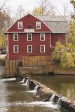 The War Eagle Mill, Old Gristmill, War Eagle, Arkansas, USA Fotodruck von Walter Bibikow