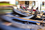 Gondolas on the Canals of Venice, Italy Photographic Print by Terry Eggers
