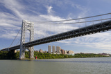 George Washington Bridge, Hudson River, New York, New York, USA Photographic Print by Cindy Miller Hopkins