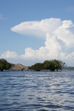 Beach at Height of the Wet Season, Alter Do Chao, Amazon, Brazil Photographic Print by Cindy Miller Hopkins