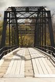 Histroic Bridge, War Eagle, Arkansas, USA Photographic Print by Walter Bibikow
