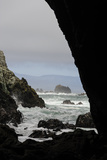 Sea Caves at Low Tide, Punihuil, Chiloe, Region Los Lagos, Chile Photographic Print by Fredrik Norrsell