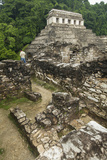 Touring the Grounds of Palenque Mayan Ruins in Chiapas State, Mexico Photographic Print by Michel Benoy Westmorland
