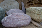 Prayer Stones, Ladakh, India Photographic Print by Ellen Clark