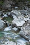 Restonica River, Gorges De La Restonica, Corte, Corsica, France Photographic Print by Walter Bibikow