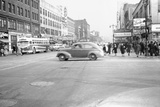 125th Street and 8th Ave, Apollo Theatre, Harlem, 1948, New York, USA Photographic Print by Peter Bennett