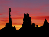 Rock Formations of Monument Valley, Navajo Nation Usa Photographic Print by Jerry Ginsberg