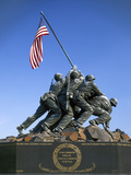 Iwo Jima Memorial, Arlington, Virginia, USA Photographic Print by Charles Gurche