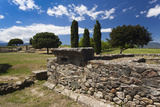 Greek and Roman Ruins, Aleria, Costa Serena, Corsica, France Photographic Print by Walter Bibikow